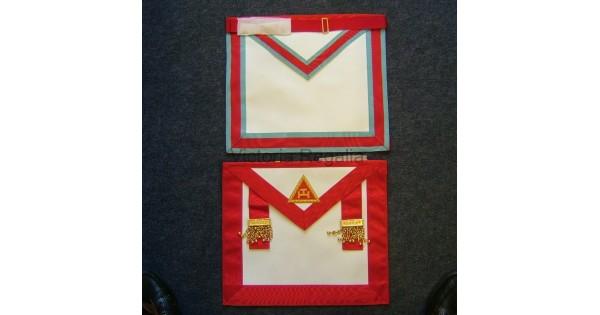 Irish Royal Arch and Mark Mason Combination Apron Standard