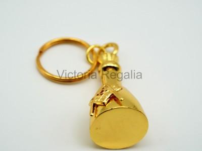 Masonic Maul  Key ring in gold colour KR05