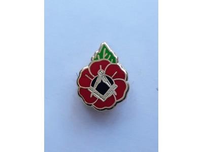 Masonic Freemasons Poppy - English