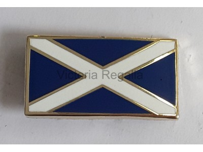 Scottish Flag Saltire Lapel Pin
