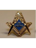 25 Years  Freemason Masonic Lapel Pin