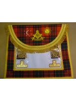 Right Worshipful Masters Dress Apron Style No.4 - SCOTTISH MASON