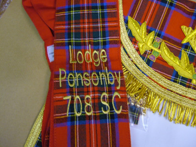 Sash   - SCOTTISH MASON