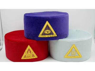 Royal Arch Principals Hat Set of 3 hats- SCOTTISH