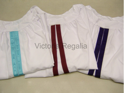 Royal Arch Sojourners Surplices  FULL SET  1st, 2nd and  3rd Sojourners - SCOTTISH