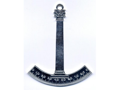 Architect  Collar jewel - Scottish Constitution