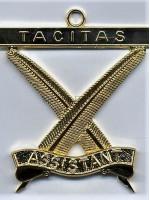 Asst Secretary Royal Order of Scotland Officers Collar Jewels