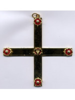 Past Provincial Grand Master Royal Order of Scotland Officers Collar Jewels