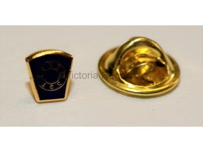 Mark Masonic Freemasons Lapel Pin blue