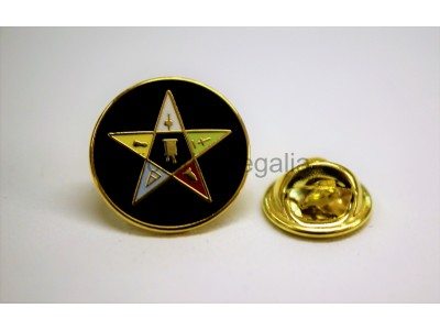 OES Lapel Pin Round - Large