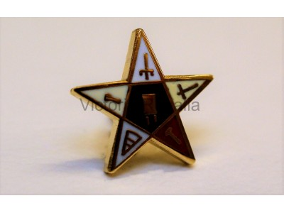 OES Lapel Pin Star- Small