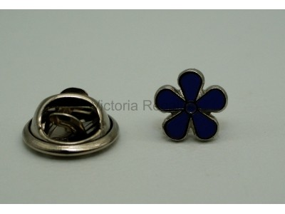 Forget me Not Masonic Freemasons Lapel Pin