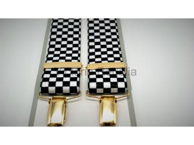 Freemasons Masonic Braces - Chequered