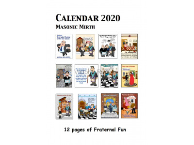 2020 Calendar with Masonic Mirth