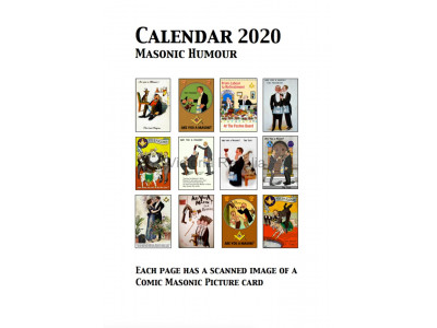 2020 Calendar with Masonic Humour