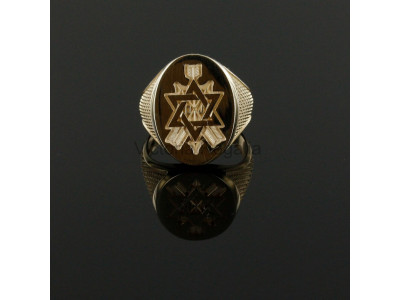 Masonic 9ct Gold Order of the Secret Monitor