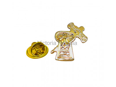 Ye Order of Cork Masonic Freemasons Lapel Pin