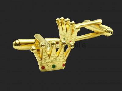 Masonic Royal Arch PZ Crown Freemasons Cufflinks