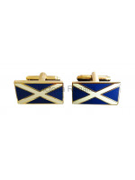 Saltire Scottish Flag Cuff links