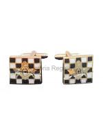 Carpet SC&G Cuff links - Masonic - Freemasons