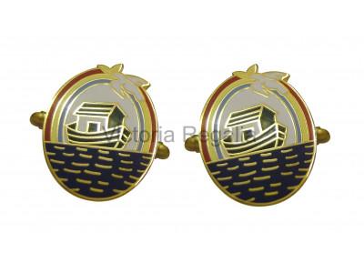 Masonic Royal Ark Mariners Freemasons Cufflinks