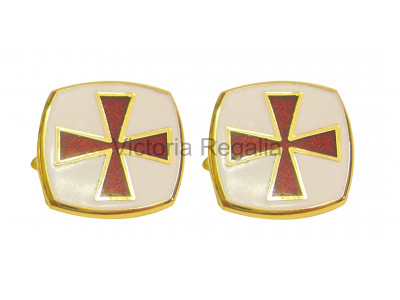 Masonic Knights Templar Freemasons Cufflinks EC