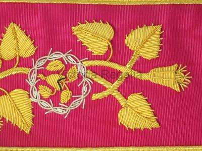 Rose Croix 18th Degree Collar - English Constitution