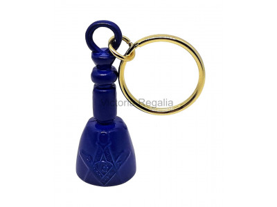Masonic Maul Keyring Dark Blue