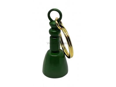 Masonic Maul Keyring Green