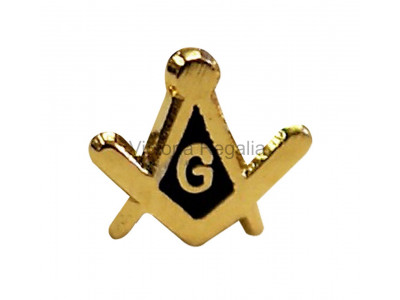 Square and Compass & G small Masonic Freemasons Lapel Pin