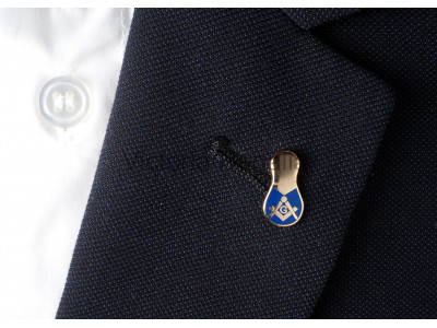 Slipper Masonic Freemasons Lapel Pin