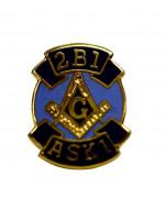 2B1 ASK1 Masonic Freemasons Lapel Pin