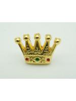 Masonic Royal Arch PZ Crown Freemasons Gold Lapel Pin