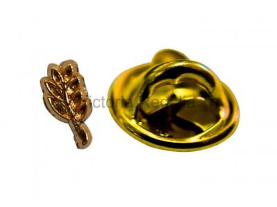 Freemasons Spec-of-Dust Acacia Leaf Masonic Lapel Pin