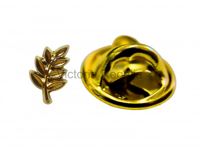 Acacia Leaf Masonic Freemasons Lapel Pin