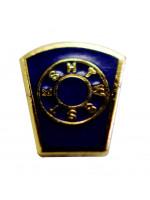 Blue Mark Masonic Freemasons Lapel Pin