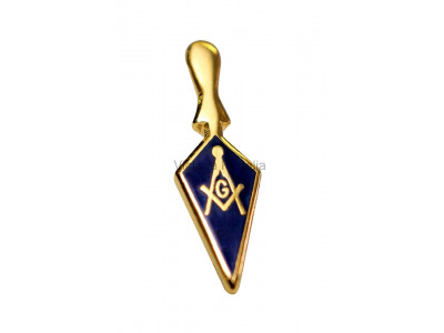 Freemasons Trowel Lapel Pin