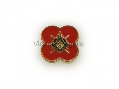 Masonic Freemasons Poppy - Scottish