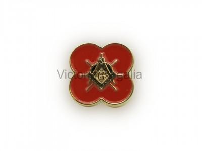 Masonic Freemasons Poppy - Scottish