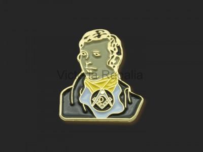 Masonic Robert Burns Lapel Pin