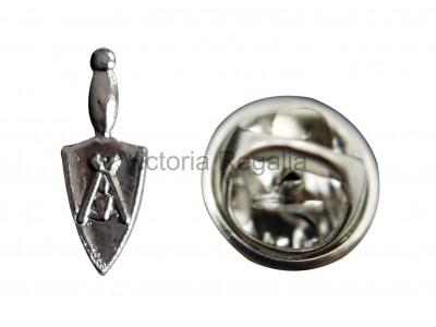 Freemasons Order of Silver Trowel Masonic Lapel Pin