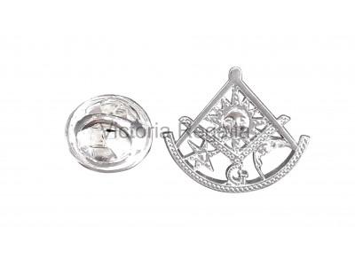 Robert Burns Masonic Freemasons Lapel Pin (depute)