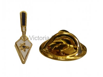 Freemasons Masonic Trowel Lapel Pin
