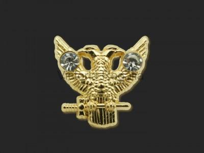 Masonic Double Headed Eagle 18th-32nd degree Lapel Pin