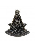 Freemasons Master Style Masonic Lapel Pin