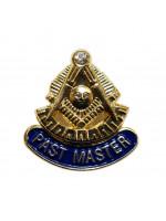 Past Master Masonic Freemasons Lapel Pin
