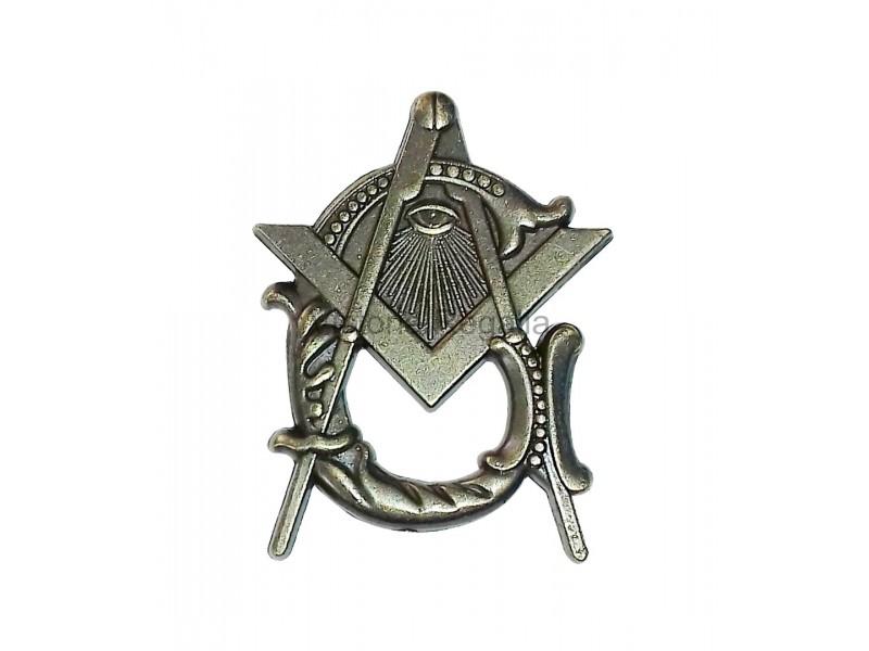 Freemasons Square and Compass Style Masonic Lapel Pin