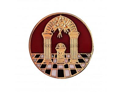 Freemasons Royal Arch Masonic Lapel Pin
