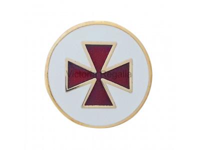 Freemasons Scottish Knights Templar Masonic Lapel Pin