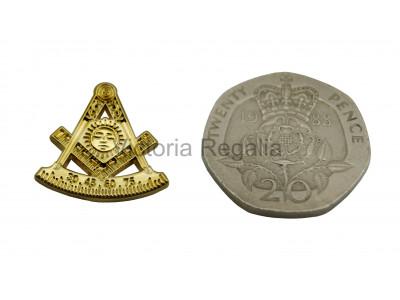 Freemasons Gold Coloured Masonic Past Master Masonic Lapel Pin